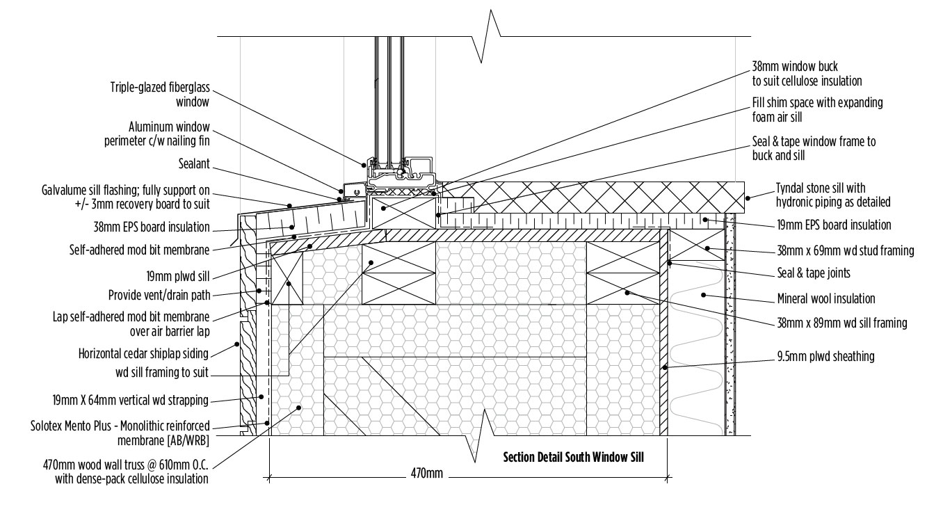Aspen Root Passive House Sabmag Space Suit Diagram The Standing Seam Metal Roof Wraps Down North Wall And Overhangs Are Provided On East West